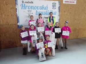 Závody Hronovská bruslička 2018